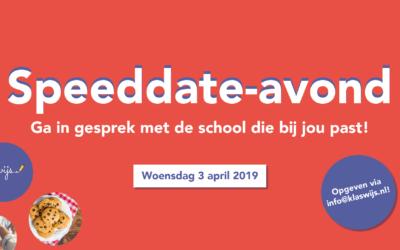 Speeddate-avond met de scholen van Klaswijs